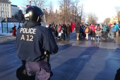 Manifestation étudiante pour la rémunération des stages