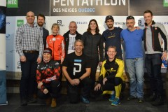 C'est un départ pour le 13e Pentathlon des neiges