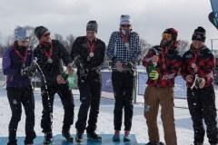 Podium canadien à la Coupe du monde ITU de Triathlon d'hiver S3