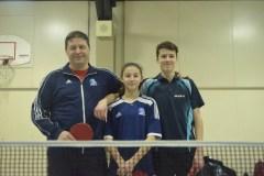 Le tennis de table, une histoire de famille