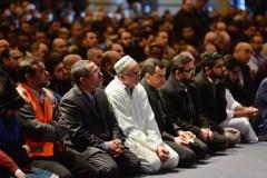 Funérailles des victimes de l'attentat: l'imam Hussein Guillet