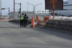 Pas d'incidence criminelle dans le dossier de l'homme retrouvé sans vie près du Centre Vidéotron