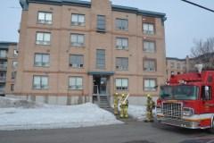 Une bombonne de propane cause un incendie dans Saint-Roch