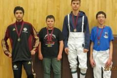 Belle prestation de l'Esquadra sur le Circuit provincial des Jeunes