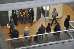 Des délits criminels surviennent en plein palais de justice
