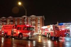 Incendie dans la cuisine d'un appartement de Charlesbourg