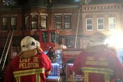 Incendie majeur dans un édifice à logements du secteur Saint-Sauveur