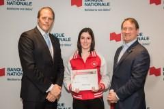 Les performances de trois étudiants-athlètes de Québec reconnues