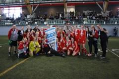 Soccer féminin: un cinquième titre consécutif pour le Rouge et Or