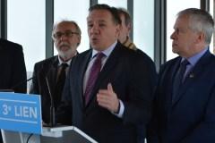 Budget provincial : Legault réclame des sommes et un échéancier pour le 3e lien
