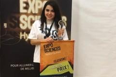 Victoria Chouinard remporte le premier prix