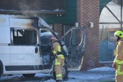 Deux voitures brûlées dans un stationnement de Québec