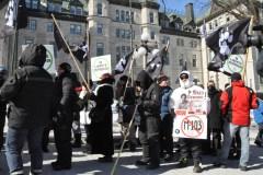 Des citoyens s'ameutent contre l'islam radical à Québec