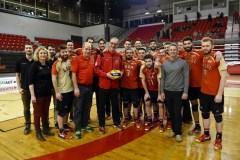 Rouge et Or: 400e victoire pour l'entraîneur de volleyball Pascal Clément