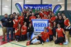 Badminton: Le Rouge et Or conserve son titre par équipe mixte