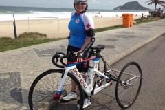 Des ennuis de santé forcent l'abandon de la paracycliste Marie-Eve Croteau