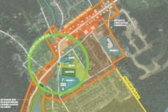 La ville de Sainte-Brigitte-de-Laval présente sa planification conceptuelle du cœur villageois