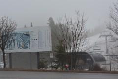 La pluie force la fermeture de la station de ski Le Relais