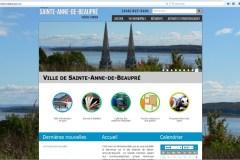 Sainte-Anne-de-Beaupré dévoile son nouveau site web