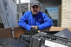Rendez-vous bisannuel du recyclage des vieux électros