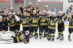 Éperviers Atome C: 2e meilleure équipe de Québec-Charlevoix-Chaudière-Appalaches