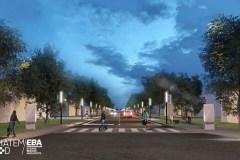 L'avenue Maguire transformée vers 2019