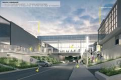 Des passerelles relieront l'ensemble des centres commerciaux de Sainte-Foy