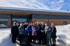 Le nouveau bâtiment du parc Saphirs officiellement ouvert