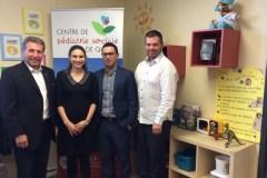 Important appui pour le Centre de pédiatrie sociale de Québec