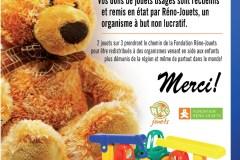 Un don de jouets pour réduire la quantité de déchets à enfouir