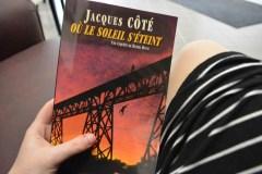 Nouveau roman de Jacques Côté: Meurtres, chars et Beaucerons au menu