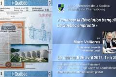 L'historien Marc Vallières en conférence
