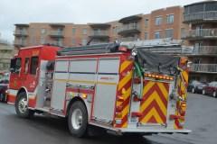 Évacuation d'une résidence pour personnes âgées à Beauport