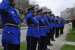 Les policiers soulignent la perte des leurs en service