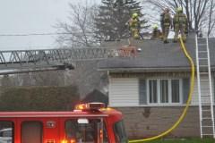 Incendie dans un quartier résidentiel de Sainte-Foy