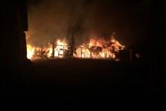 Incendie dans une grange à Saint-Joachim