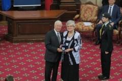 La médaille du Lieutenant-gouverneur pour une Fermière