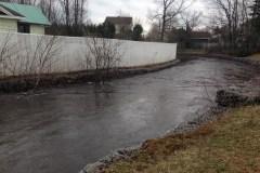 Inondation mineure de la rivière Saint-Charles
