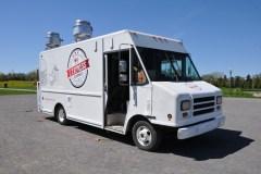 Une première sortie pour le camion-restaurant l'Express Gourmet