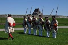 Retour dans le temps à la Citadelle de Québec
