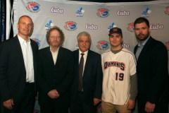 L'équipe nationale de baseball junior de Cuba en tournée à Québec