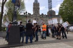 Construction: l'Alliance syndicale annonce qu'il y a grève générale illimitée