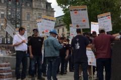 Grève de la construction: La ministre Vien prête pour une loi spéciale