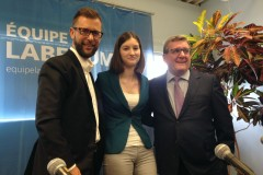 Sylvain Légaré revient avec Équipe Labeaume