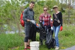 Grand nettoyage des berges de la rivière Saint-Charles