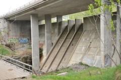 Le barrage Jean-Larose démoli