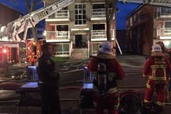Incendie dans un immeuble inhabité de la 26e Rue