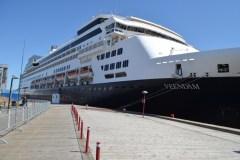 Port de Québec: Le Veendam marque l'ouverture officielle de la saison des croisières internationales