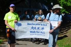 Québec marche pour la SLA