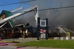 Un incendie rase le restaurant Chez Boub